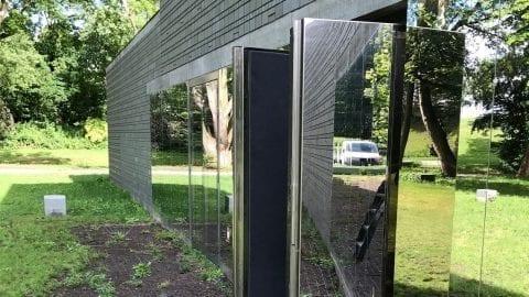 Speciale glazen explosiebestendige dubbele draaideuren