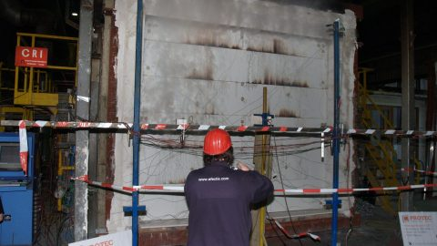 Sectionaaldeuren - brandwerendheid - EN1634-1 - Protec Industrial Doors