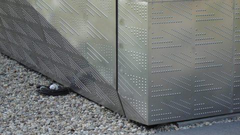 Speciaal architectonisch design - beklede schuifdeur