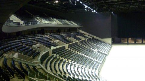 Geluidsisolerende sectionaaldeuren - Kopenhagen Arena - Protec Industrial Doors