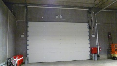 Sound insulating overheaddoors - Copenhagen Arena